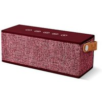 Fresh 'n Rebel Rockbox brick fabriq wireless speaker ruby