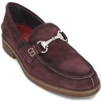 Luis Gonzalo  7599H Men's Shoes  men's Loafers / Casual Shoes in Red
