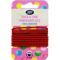 Boots Kids Red Ponybands