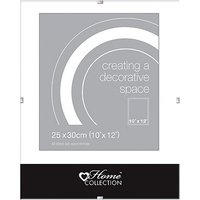 Glass Clip 10x12 Photo Frame
