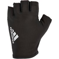 adidas Fingerless Training Gloves, Black