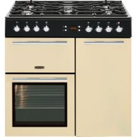 LEISURE A La Carte 90 AL90F230C Dual Fuel Range Cooker - Cream, Cream
