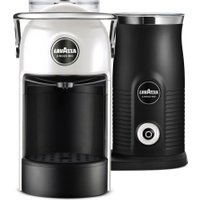 LAVAZZA Jolie & Milk Coffee Machine - White, White