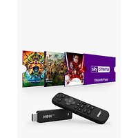 NOW TV Smart Stick with Voice Search & 1 Month Sky Cinema Pass
