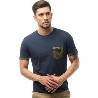 JACK AND JONES Mens Lizard T-Shirt Total Eclipse