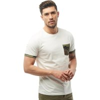 JACK AND JONES Mens Lizard T-Shirt Cloud Dancer
