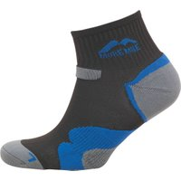 More Mile Oregan Trail Cushioned Running Socks Black/Blue