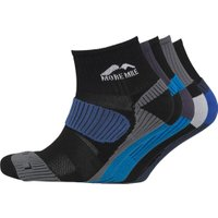 More Mile Mens Five Pack Cheviot Trail Running Socks Various