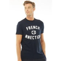 French Connection Mens French Co-nnection T-Shirt Marine