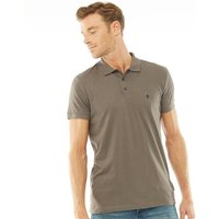 French Connection Mens Jersey Polo Khaki