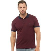 French Connection Mens Contrast Collar Polo Chateaux