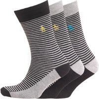 Original Penguin Mens Three Pack Socks Black