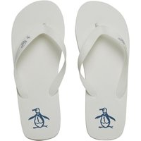 Original Penguin Mens Pacific Flip Flops White