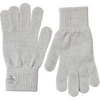Original Penguin Mens Rib Gloves Light Grey