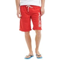 883 Police Mens Stefford Swim Shorts Red