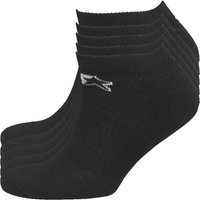 Starter Mens Five Pack Sports Socks Black