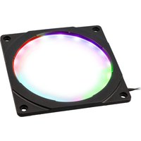 PHANTEKS Halos RGB LED Fan Frame - 120 mm, Black, Black