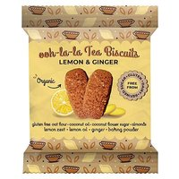Rhythm 108 Ooh-la-la Biscuits Lemon and Ginger 24g