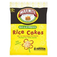Marmite Toddler Rice Cakes 40g