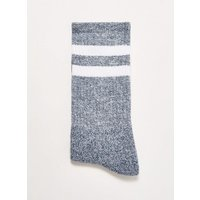 Mens Navy Twist Tube Socks, Navy