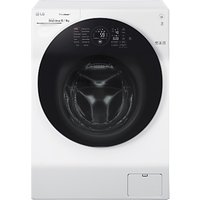 LG FH6G1BCH2N Freestanding Washer Dryer, 12kg Wash/8kg Dry Load, A Energy Rating, 1600rpm Spin, Whit