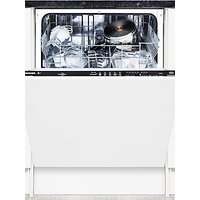 Hoover HDI1LO38B-80 Integrated Dishwasher, A+ Energy Rating, White