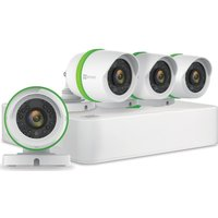 EZVIZ 4-Channel Full HD 1080p Home Security Kit - 4 Cameras, 1 TB DVR