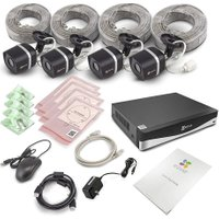 EZVIZ 4-Channel 4K Ultra HD Home Security Kit - 4 Cameras, 2 TB DVR