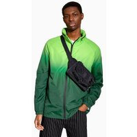 Mens Yellow Green Fade Windbreaker Jacket, Yellow