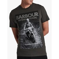 Barbour International Short Sleeve Graphic T-Shirt, Sports Olive