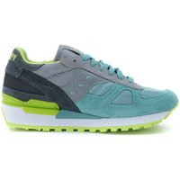 Saucony  Sneakers Shadow in aqua green fabric  men's Shoes (Trainers) in Grey