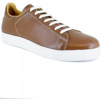 Peter Blade  Sneaker  Cognac Leather AUTOIRE112  men's Shoes (Trainers) in multicolour