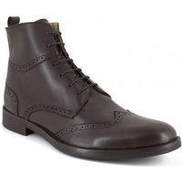 J.bradford  Low Boots  Brown Leather JB-HECTOR  men's Mid Boots in multicolour