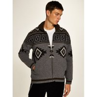 Mens Grey Element 'Settler' Cardigan*, Grey