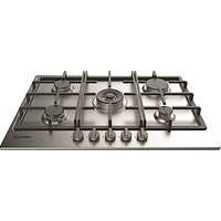 Indesit Aria THP751WI Built-In Gas Hob, Stainless Steel