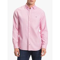 Tommy Hilfiger Twisted Yarn Dobby Shirt, Haute Red