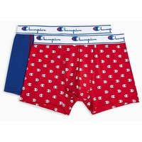 Mens Multi Champion Red And Blue Printed Trunks 2 Pack*, Multi
