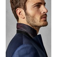 Debonair Slim Wool Suit Jacket