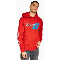 Mens Red 'Reality' Hoodie, Red