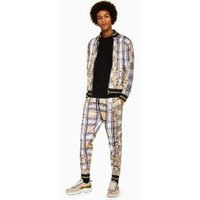 Mens Multi Jaded Check Baroque Joggers*, Multi