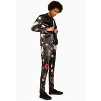 Mens Multi Jaded Satin Floral Trousers*, Multi