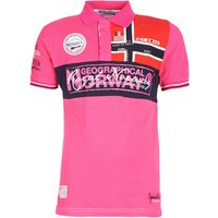 Geographical Norway  KOALA  men's Polo shirt in Pink
