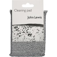John Lewis The Basics Cleaning Pad, Silver
