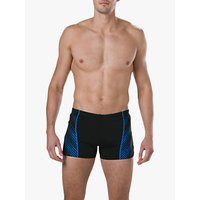 Speedo Sport Panel Aquashort Swim Shorts, Black