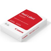 CANON Red Label A4 Matte Paper - 500 Sheets, Red