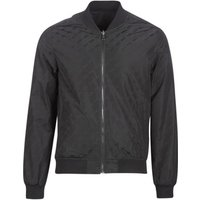 Guess  ICONIC REVERSIBLE  men's Jacket in Black