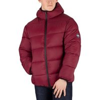 Puffa  Men's Hooded Jacket, Red  men's Jacket in Red