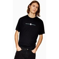 Mens Black 'NY' T-Shirt, Black