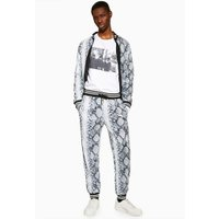 Mens Multi Jaded Snake Print Joggers*, Multi