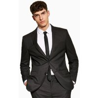 Mens Grey Charcoal Tailored Blazer, Grey